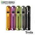 3 conjuntos hottest original tesla vv vw 3-15 w mod além de lava tubo 3-6 v uso Do Corpo E cig Tensão Variável Tesla 18650 bateria
