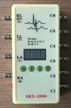 SKX2000C SKX-2000C ECG simulator ECG signal simulator ECG generator sensor ad8232 single lead ecg analog front end acquisition ecg monitoring ecg sensor development board