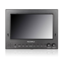 """Feelworld Official Store 7"""" IPS 1024x600 Lightweight 3G-SDI HDMI Camera-Top Field Monitor with Peaking FW702-HSD(China (Mainland))"""
