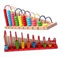 Los niños Juguetes de Madera Niño Abacus Cuentas de Aprendizaje de Matemáticas Juguete Educativo