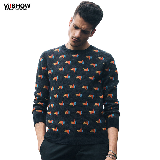 O-cuello de 2016 Hombres Suéter más el TAMAÑO S-5XL Indie Pop Pullover Hombres suéter Suéter Que Hace Punto Slim Fit Hombres Ropa de Hip Hop Homme Tirón