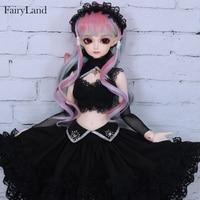 BJD SD Doll Fairyland Minifee Eliya 1/4 High Quality Silicone Resin Birthday Xmas Best Gifts Toys For Girls FL