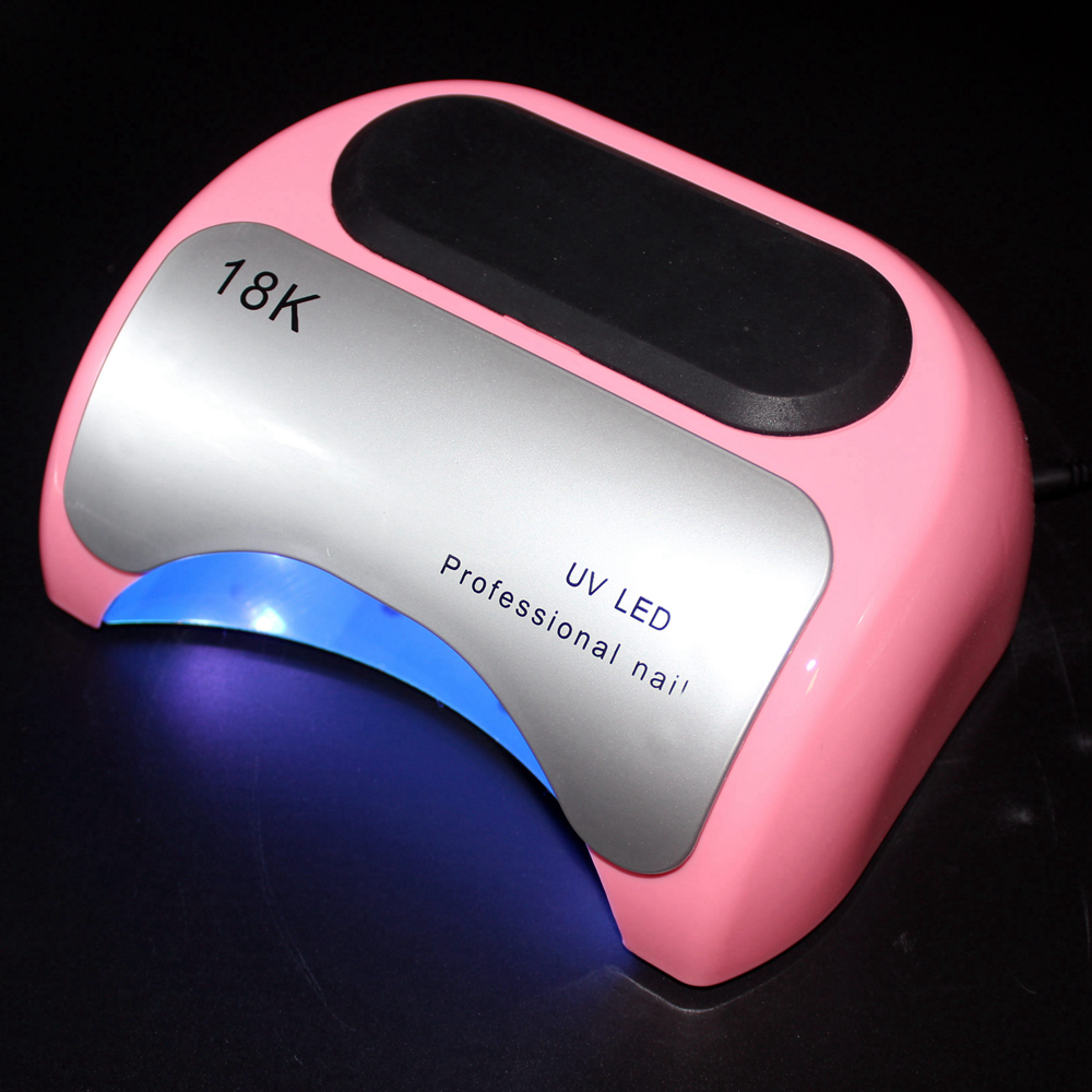 Séchoir à ongles lampe à ongles UV lampe à polymériser Gel Lampara pour manucure LED ongles machines-outils lampe à LED pour Salon d'art des ongles