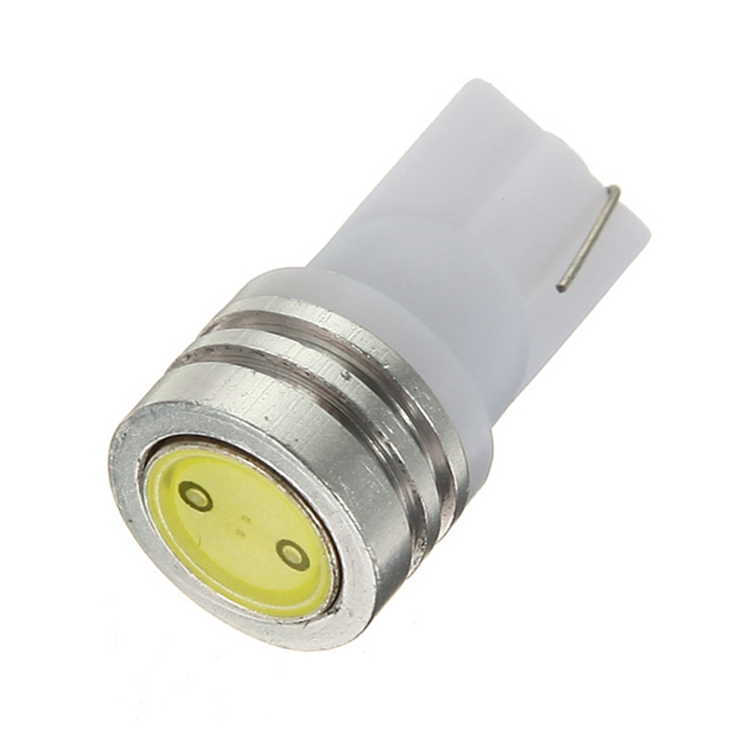 2pcs/lot T10 194 168 W5W 1 SMD LED White Car Auto Side Wedge Tail Light Bulb Turn Signal Parking Marker Lamp DC 12V Car Styling super bright white t10 w5w 50w 10 smd drl led bulb car auto wedge reverse signal light lamp 194 168 hot selling