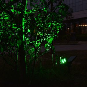 Image 5 - T SUNRISE חיצוני שמש אור זווית מתכוונן 4 תאורת LED עמיד למים גן אור חצר נתיב ירוק צבע