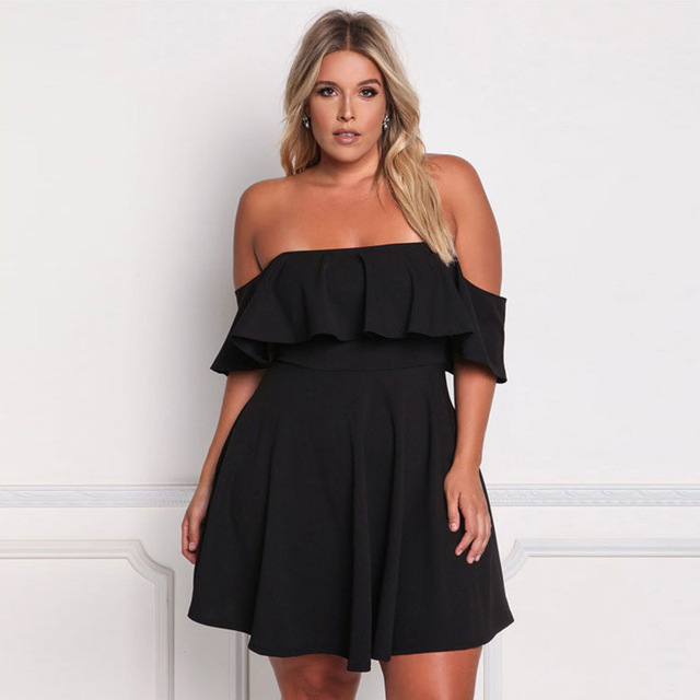 Women Plus Size Party Dresses for Summer