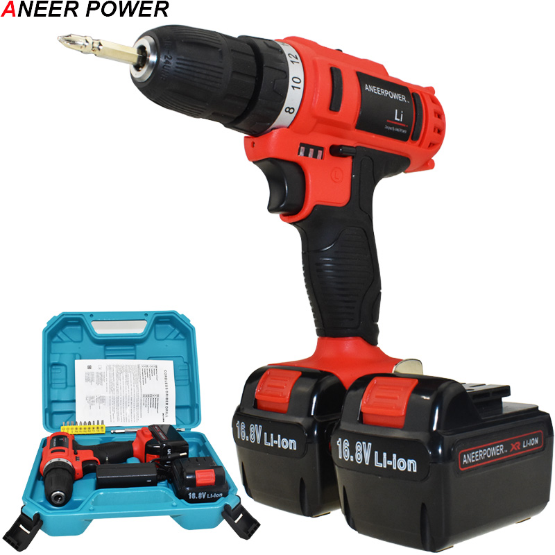 16.8v Batteries Screwdriver Electric Screwdriver Cordless Drill 1.5Ah Battery Capacity Drill Electric Drill Mini Power Tools sports gym arm band case w stylus for samsung i9100 galaxy s2