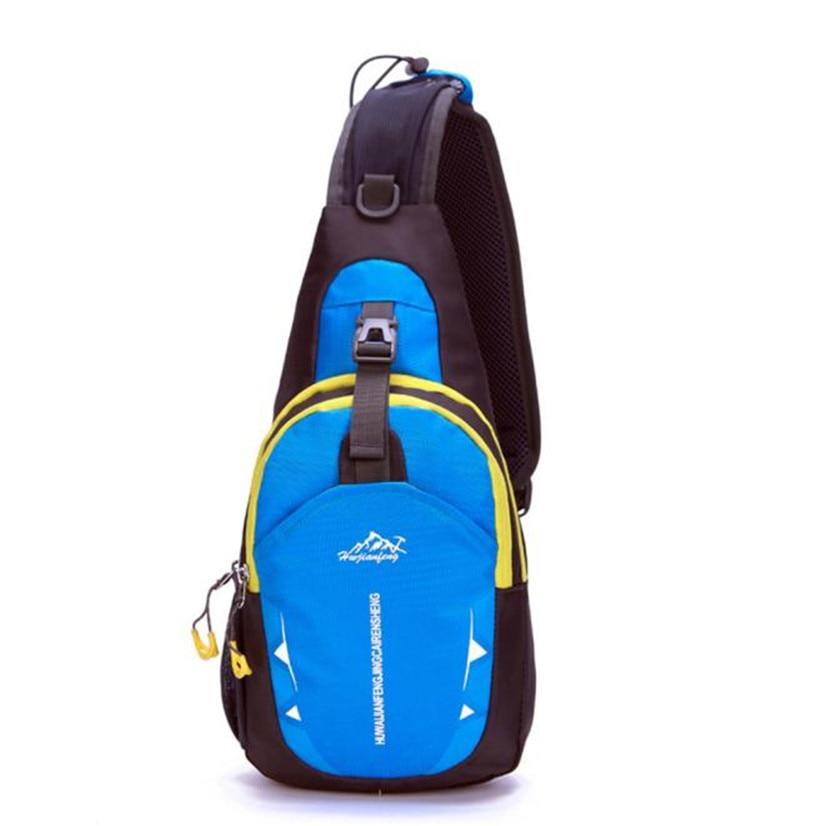 Fishsunday Unisex Sports Running Waterproof Nylon Cross Body Shoulder