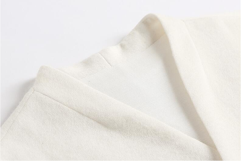 Lady 79346 Femmes Printemps Vêtements Femelle Broderie Et 2019 Automne Longues Manches Robe Filles Office Blanc Laine Nouveau Marque 5aUXqZUP