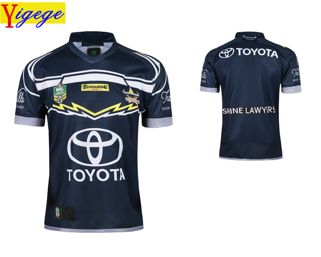 Yigege 2018 Queensland Cowboys rugby Jerseys home Jersey NRL National Rugby  League nrl Jersey Australia shirt s-3xl AAA 2629c5478