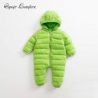 Baby Romper Russian Winter Keep Warm Infant Clothes Thick Outerwear Newborn Baby Boy Romper Jumpsuit Kid