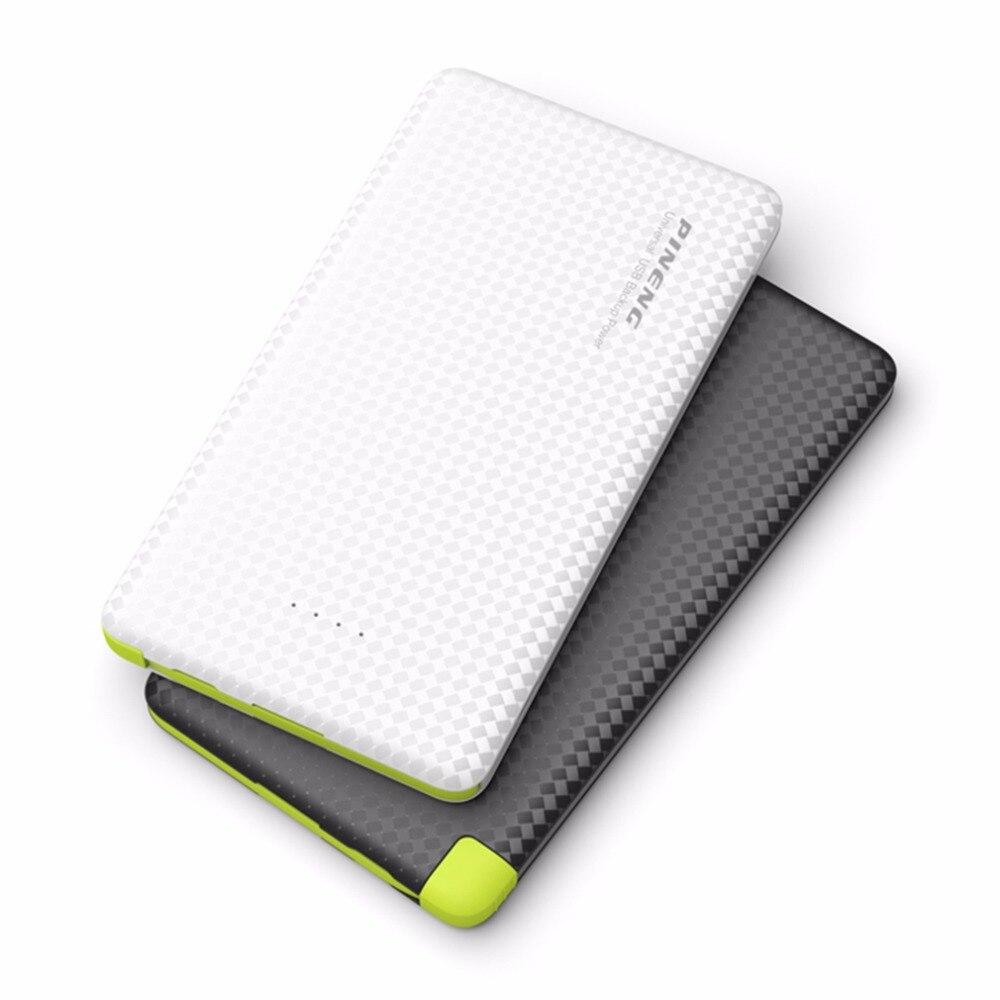 5000 mah pineng banco móvil de carga rápida batería externa portátil cargador de