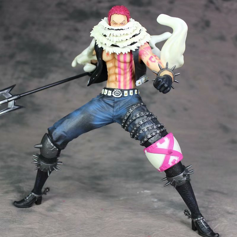 26cm <font><b>One</b></font> <font><b>piece</b></font> Charlotte <font><b>Katakuri</b></font> <font><b>Figure</b></font> action <font><b>figure</b></font> PVC toys collection doll anime cartoon model for gift image