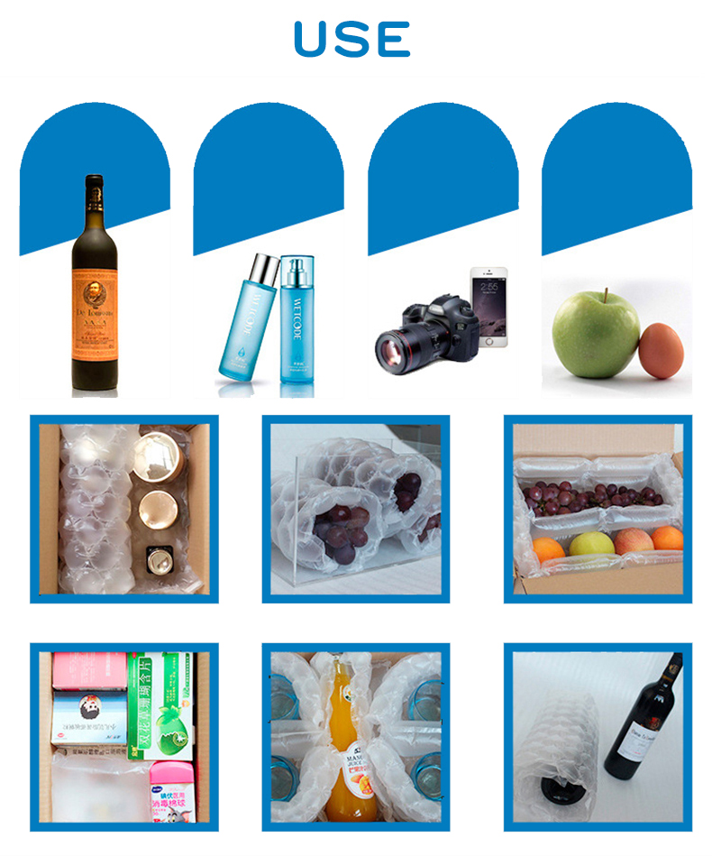 Gourd film,bubble,buffer,shockproof,Anti-fall,package,Roll film,Airbag,Pressure relief,Logistics,Inflatable pillow,glass,fruit,vegetables,electronic productlfragile,Coil (6)