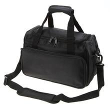 Black Salon Handbag Styling Tools Hairdressing Tool Bag Toolkit Portable Tool Case Portable Hairstyling Case