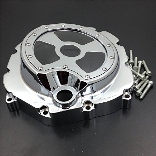 For Kawasaki  ZX14R ZZR1400 2006 2007 2008 2009 2010 2011 2012 2013 2014 ZX-14R Motorcycle Engine Stator cover Right Silver for kawasaki zx10r 2006 2015 2007 2008 2009 2010 2011 2012 2013 2014 red
