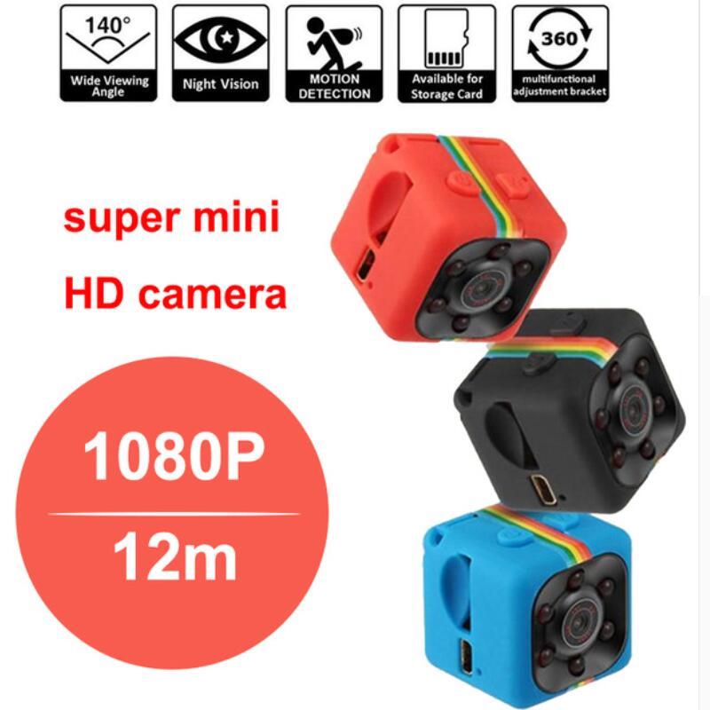 SQ11 Mini Camera 1080P Sport DV Mini Infrared Night Vision Monitor Concealed small Camera SQ 11 small camera DV Video Recorder lc 08 mini dv headphone 1080p hd sport dv bluetooth headset stereo neck strap video recorder