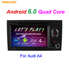 7″ inch Android 6.0 (64bit) DDR3 2G/16G/4G LTE Quad Core Car DVD GPS Radio Head Unit For Audi A4/S4/RS4(2002~2008) #5394