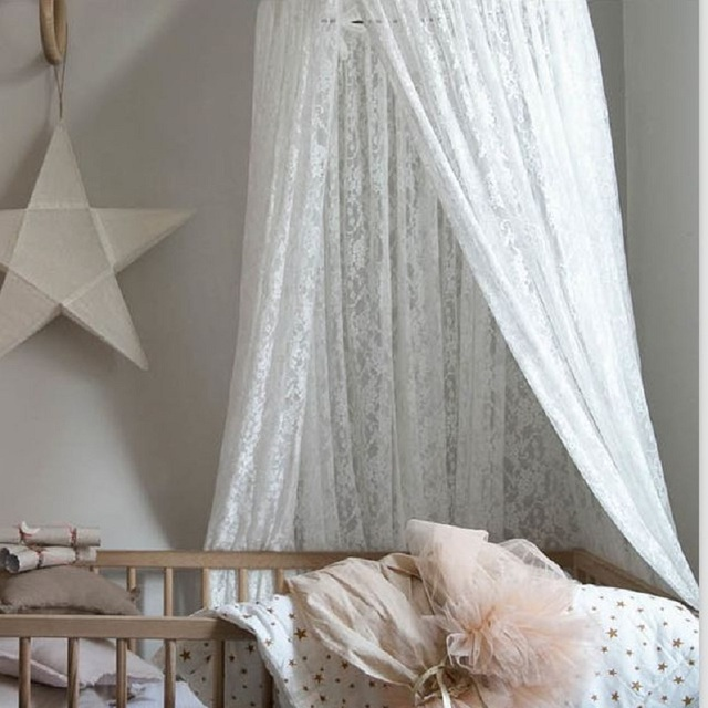 European Style Lace Hanging Dome Play Tent Bed Curtain Tent Mosquito Net Baby Hung Teepee Play & European Style Lace Hanging Dome Play Tent Bed Curtain Tent ...