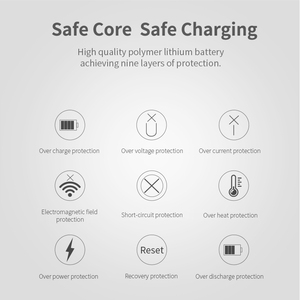 Image 5 - RAXFLY Mini Power Bank 10000mAh Cell Phone Portable Charger LED Powerbank 10000 mAh For Xiaomi External Mobile Battery Poverbank