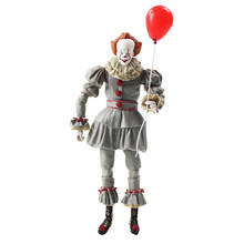 20cm NECA Stephen King's It Pennywise Joker Clown Halloween Day Horror Movie Doll PVC Action Figure Collectible Model Toy Gift(China)
