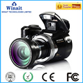 Wide angle lens digital camera ,fashional and hot sell high resolution dslr video camera(DC-510T)