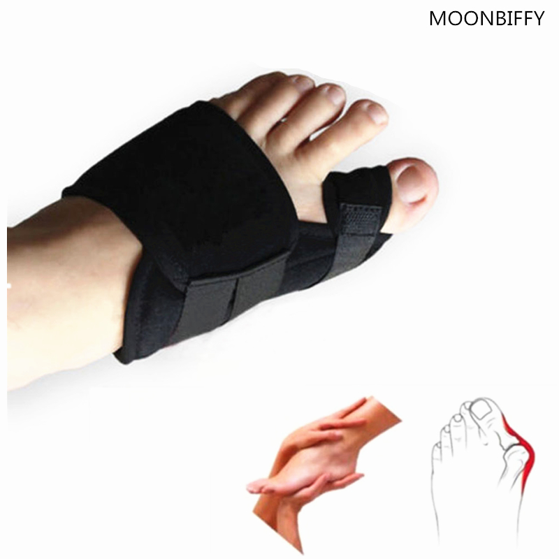 Free shipping 1pairs/lot hallux valgus pro toe correction thumb tape physical pain relief big bone toe corrector magnetic belt 1pair free size toe straightener big toe spreader correction of hallux valgus pro toe corrector orthopedic foot pain relief