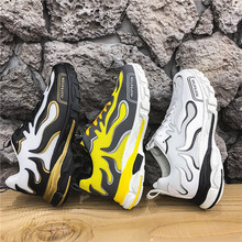 New Mens Sneakers Zapatos De Hombre black Running Shoes Height Increasing Sport Fashion Thick Bottom Platform Casual