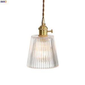 Image 5 - IWHD Copper Nordic Glass Pendant Light Fixtures Dinning Living Room Hanging Lamps LED Pendant Lighting Lampara Colgante Lampen
