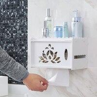sanitary toilet paper box toilet punch free towel rack bathroom toilet paper box racks tissue boxes