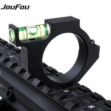 JouFou Tactical Aluminum Alloy Scope Bubble Level Fit for 25.4mm Laser Sight Tube for Rifle Hunting Free Shipping