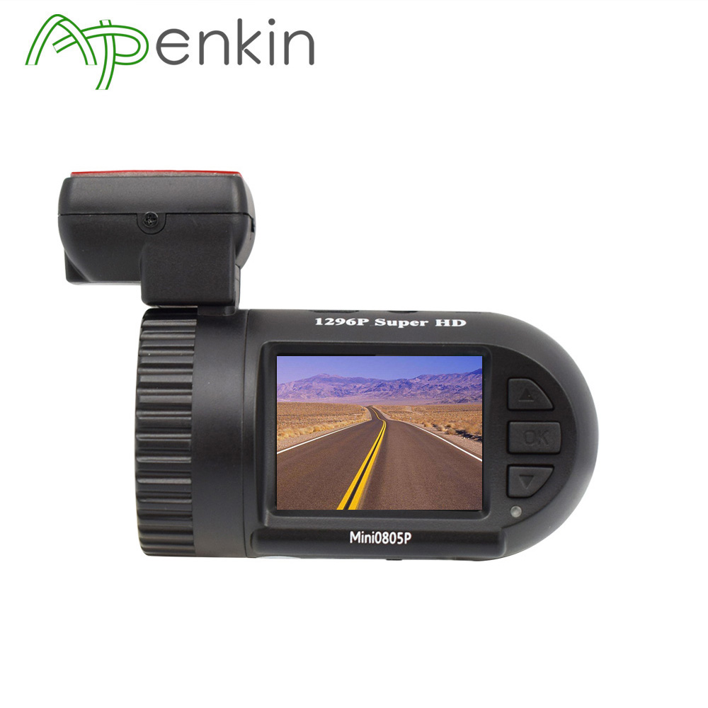 Arpenkin Mini 805P Car Dash Camera 1296P 30fps GPS WDR Car DVR Vedio Registrar Parking Sensor Voltag eSafe Capacitor Night Sight ...