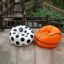 Прочный из ПВХ надувной футбольный стул для продажи, пластиковый надувной футбол баскетбол диван стул для взрослых