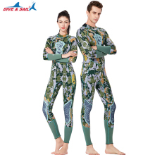 цена на DIVE SAIL Men Full Body 3MM Neoprene WetSuit Surfing Snorkeling Jumpsuit Women Long Sleeve Scuba Back Zipper Swim Diving Suit