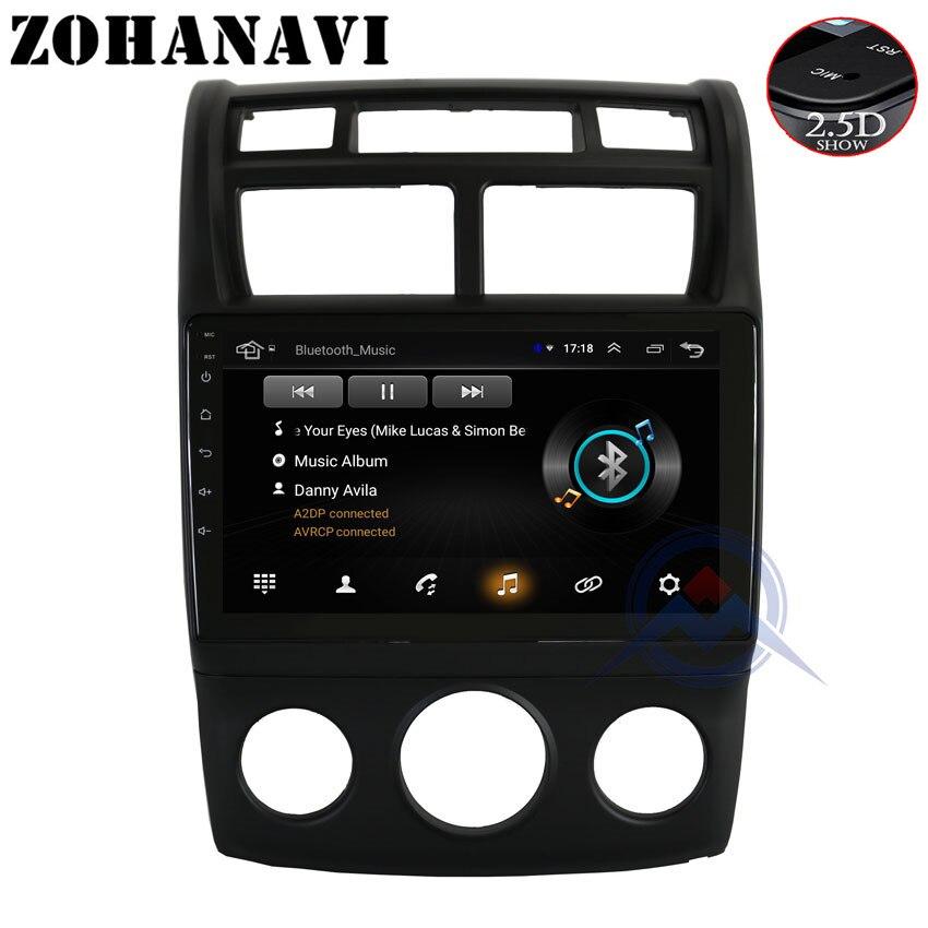 ZOHANAVI 2 5D Android car dvd GPS for KIA sportage 2007 2008 2009 2010 2011 gps