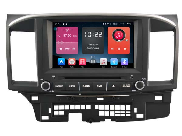 Android 6.0 CAR DVD FOR MITSUBISHI LANCER 2006-2015 car audio gps player stereo head unit Multimedia build in 4G <font><b>module</b></font>