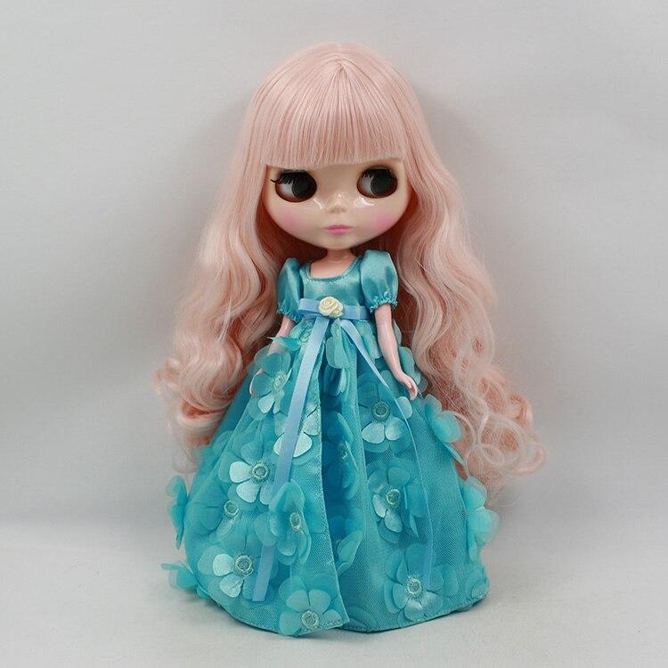 ФОТО Blyth nude doll bonecos long hair with bangs blyth diy doll baby dolls for girls
