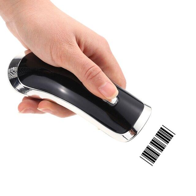 High Speed 24G Wireless Barcode Scanner Handheld Scanning 2D QR Codes 1D Bar Code Reader Decoder M2 G