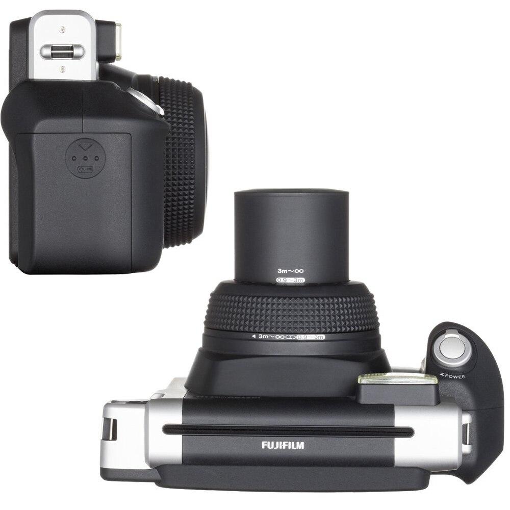 富士フイルムインスタックスワイド300フィルムカメラ黒+ 20枚富士インスタント210フィルム写真用紙+ソフトケースカバーポーチバッグスキンカバーケースフリップシェル  グループ上の 家電製品 からの フィルムカメラ の中 3