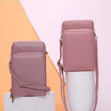 New ladies bag Korean version of the large-capacity shoulder fashion multi-function mobile phone Messenger сумка жен