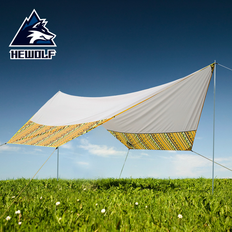 Outdoor tent carport awning canopy pergola sun protection camping shade cloth beach tent large outdoor camping pergola beach party sun awning tent folding waterproof 8 person gazebo canopy camping equipment