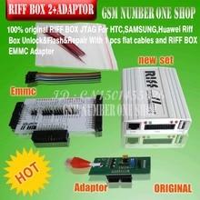 original new Riff Box 2 Riff box v2 Riff box II + Emmc +Adapter  for LG&HTC, Samsung mobiles Repair and Flash (and emmc adapter)