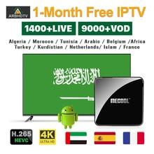 IPTV Arabo Francia Turchia IP TV Bambini Islam 1 Mese IPTV di Trasporto KM3 ATV TV Box 4 K Kurdistan Paesi Bassi IPTV Belgio Marocco IP TV