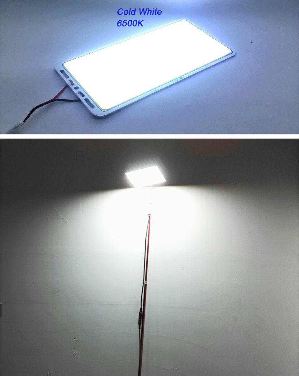 200w 12v cob led panel light car lighting bulbs outdoor lamp (13)