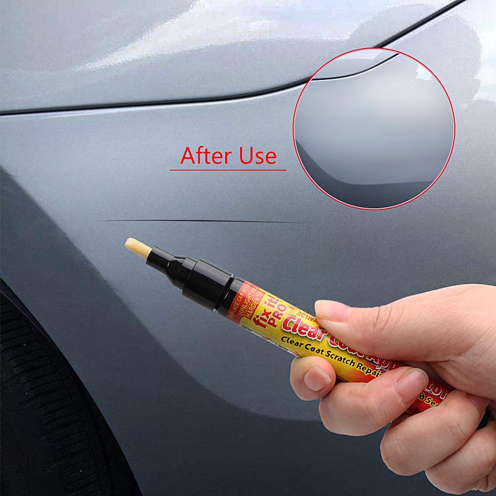 Universal Car Scratch Repair Auto Paint Pen Clear Coat Applicator Fix It Pro Paint Care Scratch Remover Auto Care Car-styling