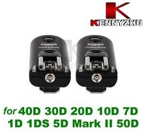 Image 5 - Yongnuo Kablosuz Flaş Tetik Uzaktan Kumanda RF 603 II C3 2.4G Canon DSLR Için 7D 1D 1DS 5D II III 50D 40D 30D 20D 10D