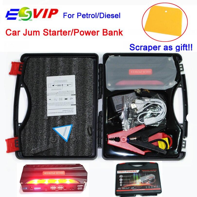 Prix pour Portable Voiture Jump Start Banque D'alimentation D'urgence Auto Saut Démarreur Voiture De Saut Automatique Batterie Booster Pack Véhicule Jump Starter