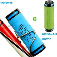 20W Wireless Bluetooth Speaker 10000mAh Outdoor Climing Waterproof Loudspeaker For Iphone Android Phone With TF Card