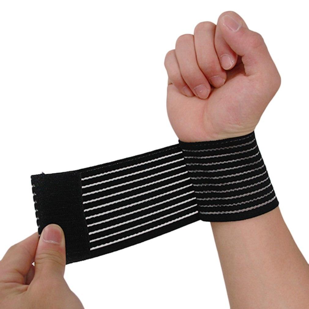 Breathable Adjustable Sport Gym Wristband Comfortable Bandage Teenis Basketball Wrist Protect Strap Brace Wrap