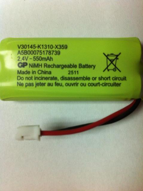 Новый беспроводной домашний телефон батареи 2.4 В 550 мАч Ni-MH Батарея для Siemens C42 A140 A200 C28 C360